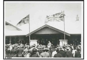 opening of the new hospital in Hawker, 1924