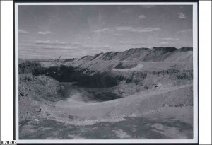Leigh Creek mine 1951