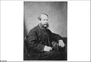Benjamin Herschel Babbage in about 1860.