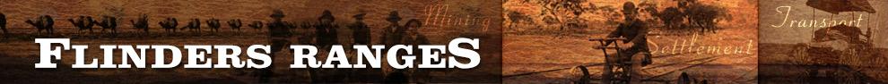 Flinders Ranges History header image