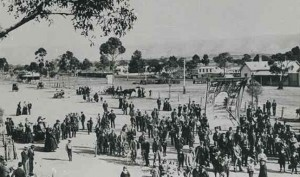 Eight Hours Day celebration at Quorn, 1901.